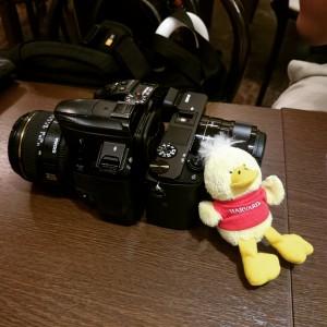 新しいカメラ(Sony α6000)